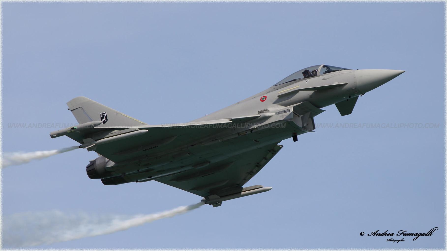 Aerei Da Caccia Di Ultima Generazione : Eurofighter typhoon aeronautica militare la fotografia