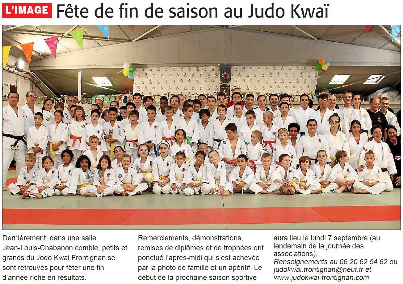 08 Juillet 2015 (Midi Libre): Fête du Club