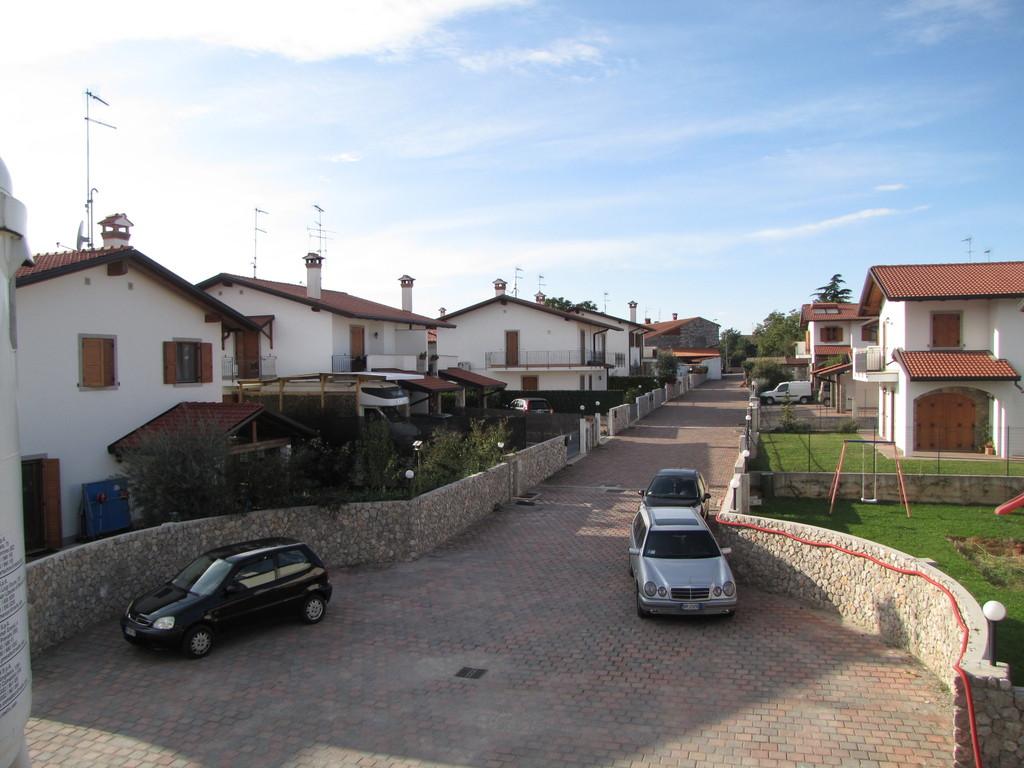 Vista da villa Busatto
