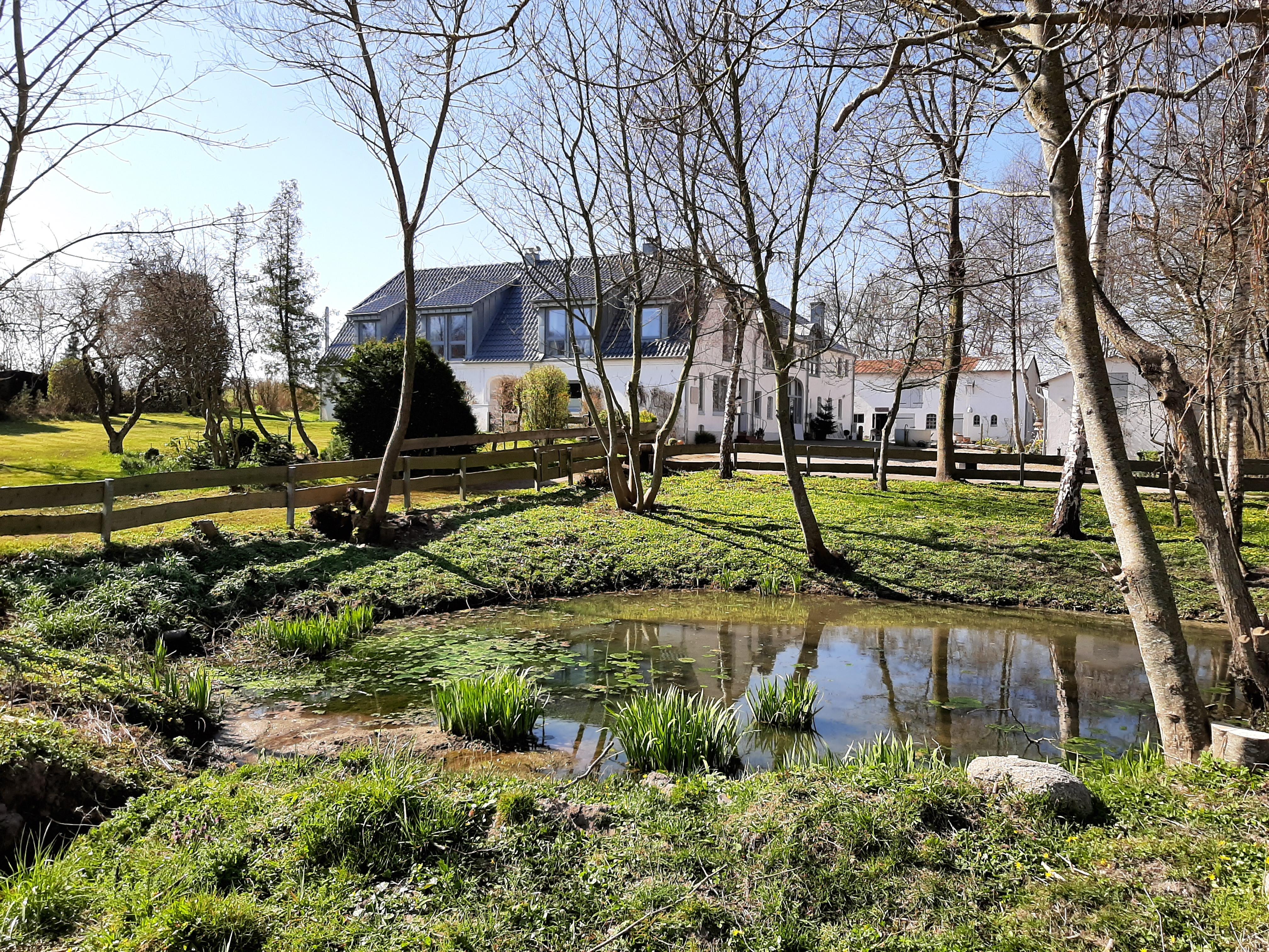 Unser Hof liegt  an der Geltinger Bucht zwischen Flensburg und Kappeln. Die Förde, Schlei und Ostsee  rahmen uns ein.