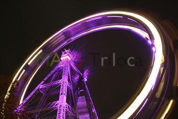 MARS Triloca_Wien-Prater Riesenrad bei Nacht