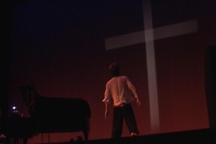 音楽劇「一人で演じる走れメロス」