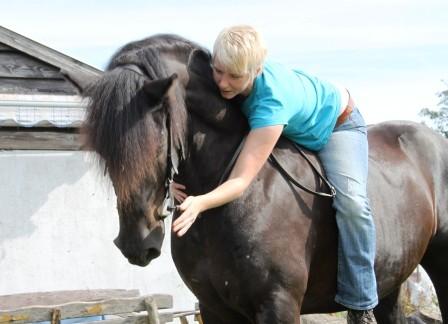 Das Glück der Erde liegt auf dem Rücken der Pferde!!!