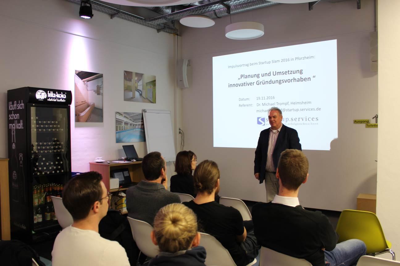 Vortrag: Dr. Trompf - Startup.Services