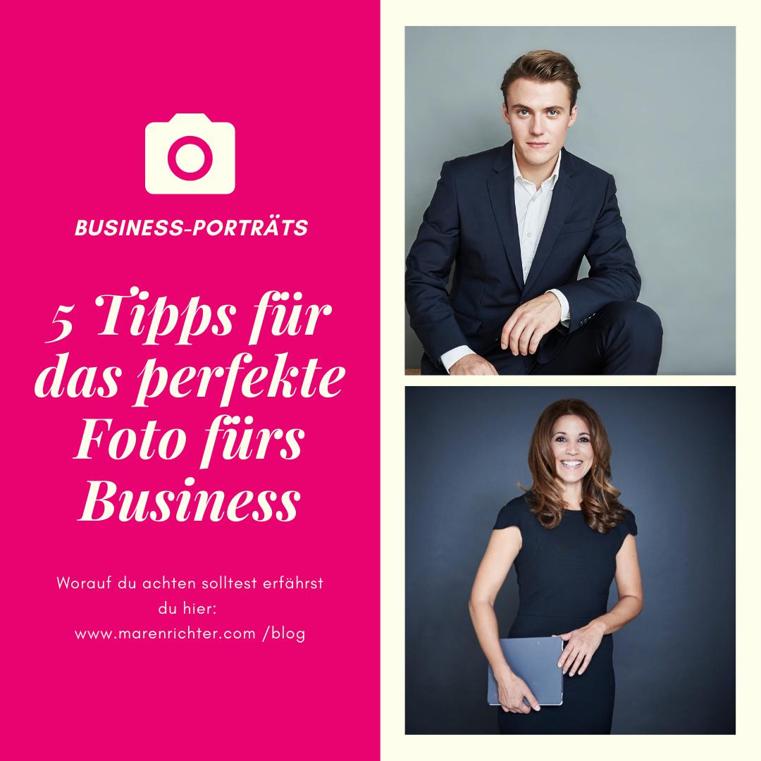 5 Tipps für das perfekte Businessporträt