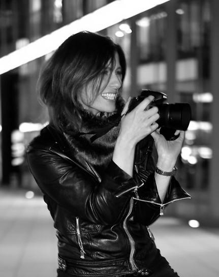 schwarz-weiß Porträt Maren Richter
