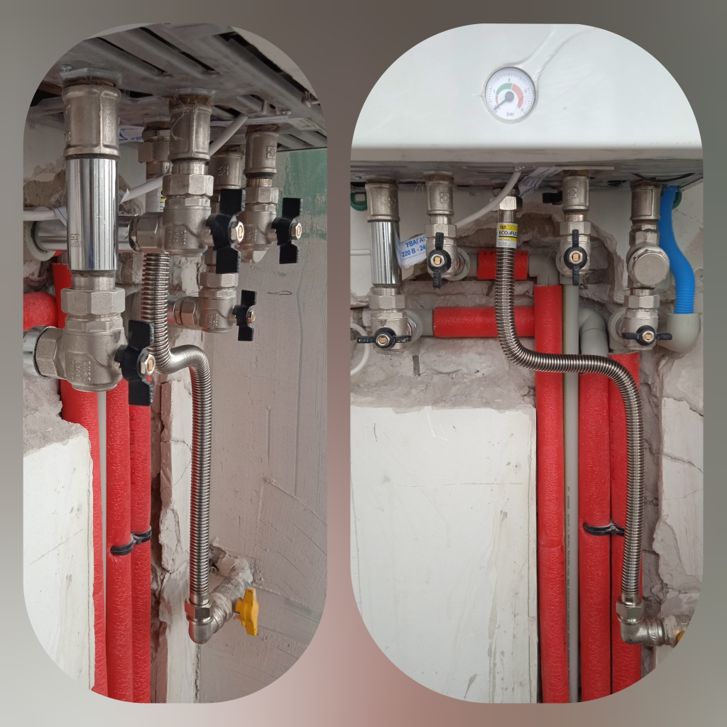 Замена, установка газовых котлов Винница