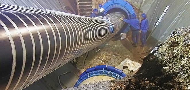 Стальные трубы сетей водоснабжения. Методы изготовления.