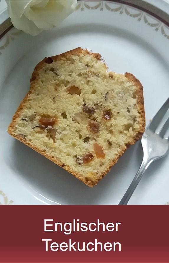 Englischer Teekuchen: Nusskuchen Rezept