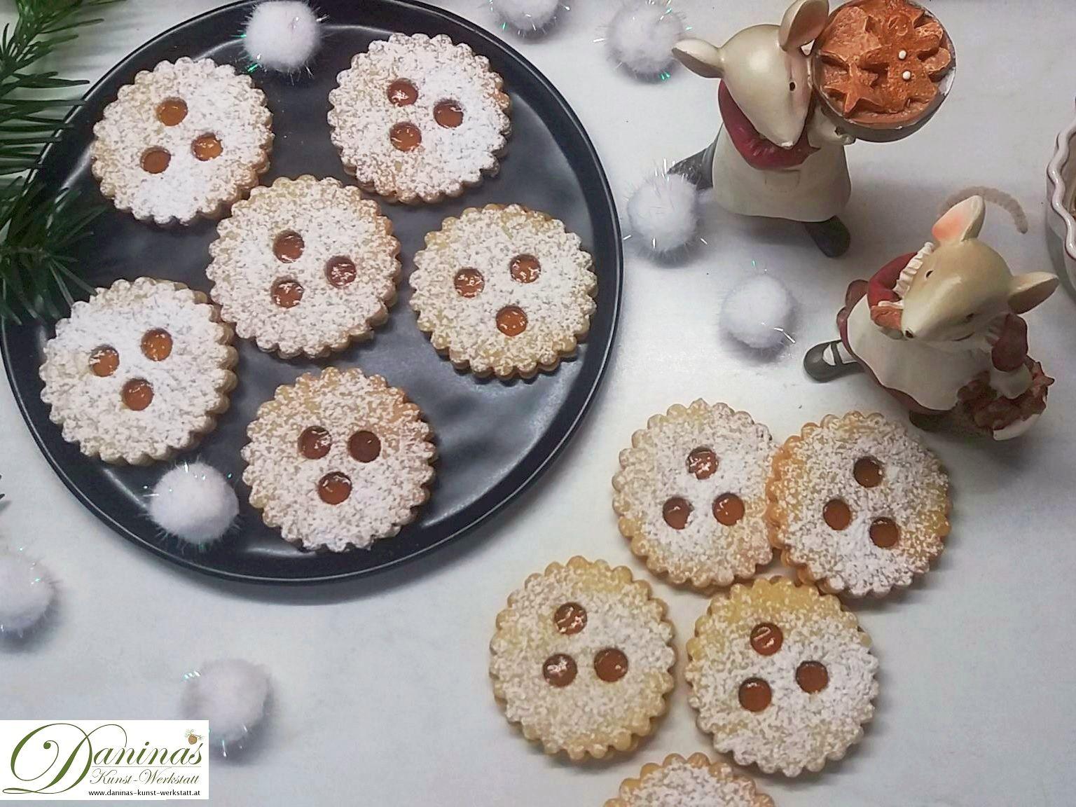 Ischler Plätzchen - Weihnachtsbäckerei