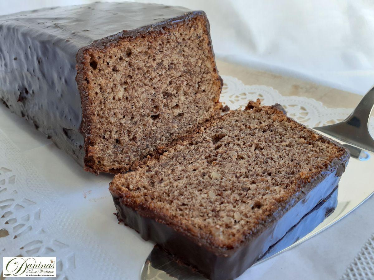 Mandelkuchen mit Schokolade, hmmmm!