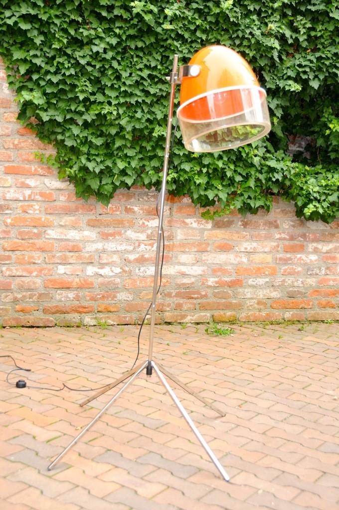 Upcycling Lampe Trockenhaube - Onkel Edison Lampen Design & Upcycling