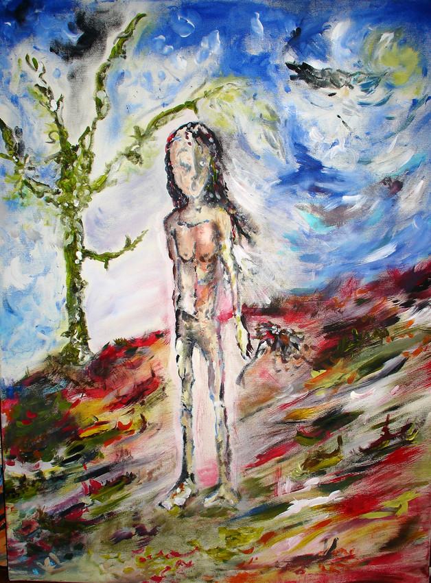 """Untitled"", Acrylic on canvas, 2004"