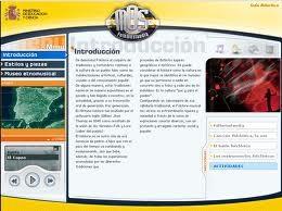 Página Web Ministerio de Cultura