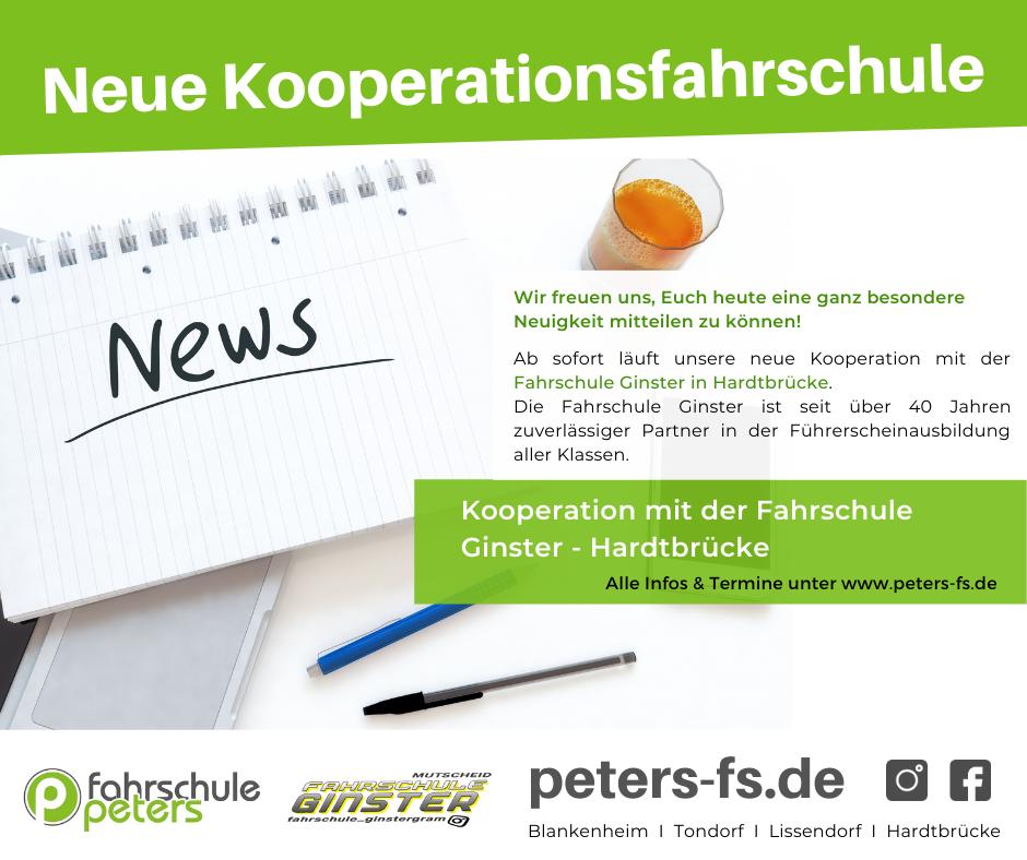 Neue Kooperationsfahrschule!