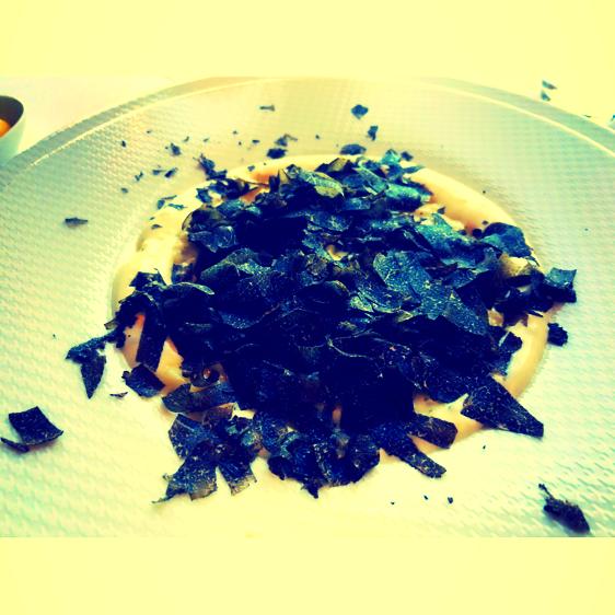 Trüffelrisotto mit Parmesan-Schaum @Per Se - New York, USA