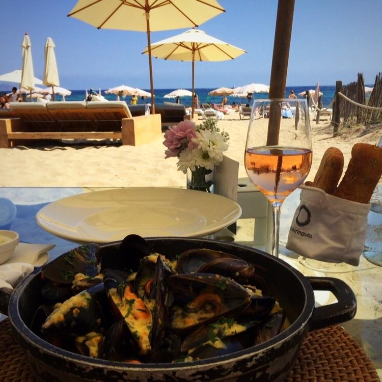 Moules Frites @El Chiringuito, Ibiza