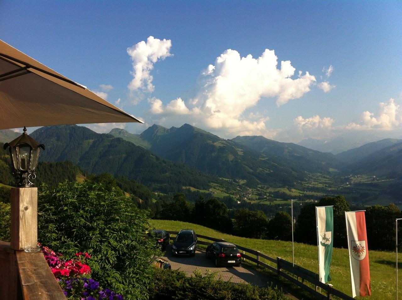 Getrüffelter Caprese Salat@Rosis Sonnbergstuben - Kitzbühel, Austria