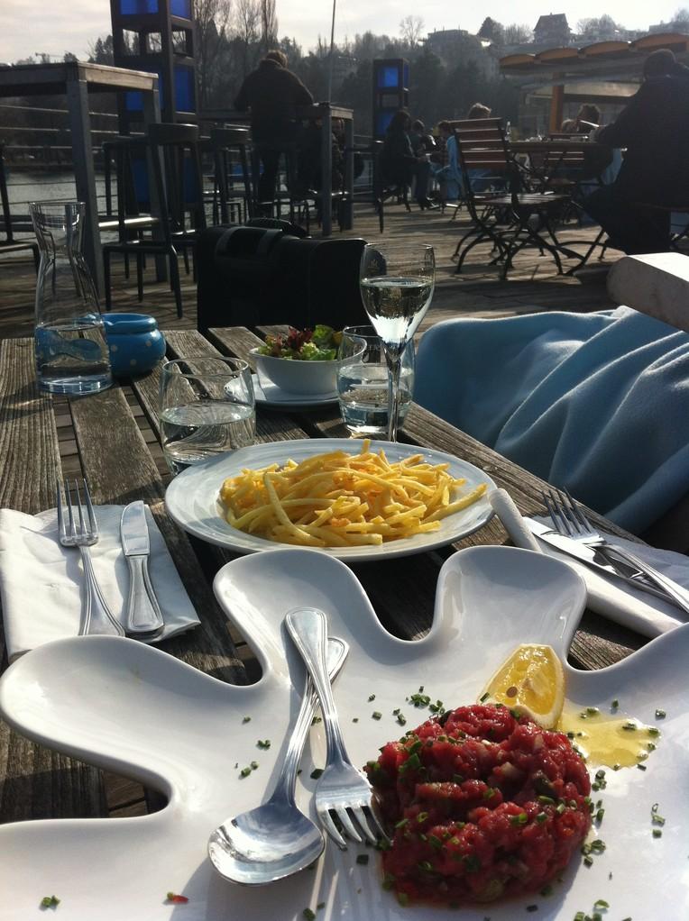 Kalbstartar@Seerose - Zürich, Switzerland