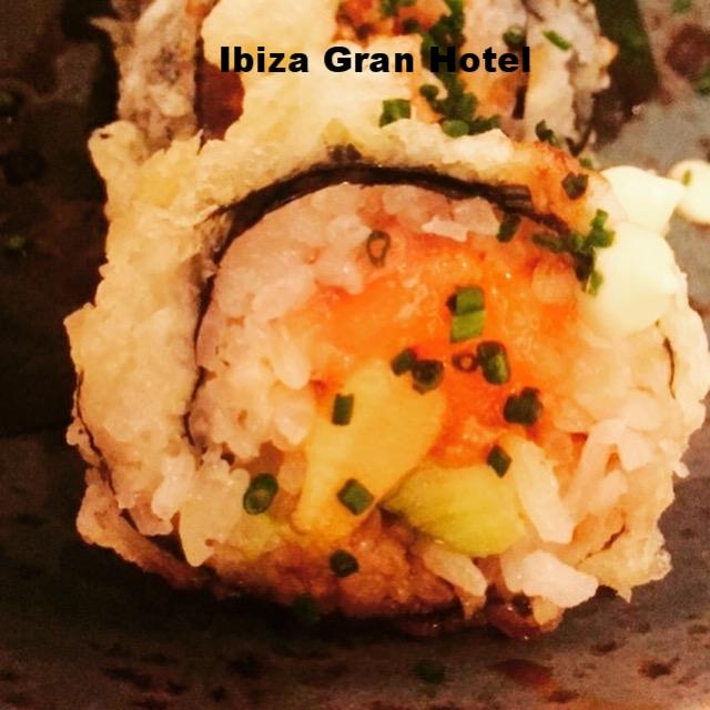 Sushi Roll@Grand Hotel, Ibiza, Spain