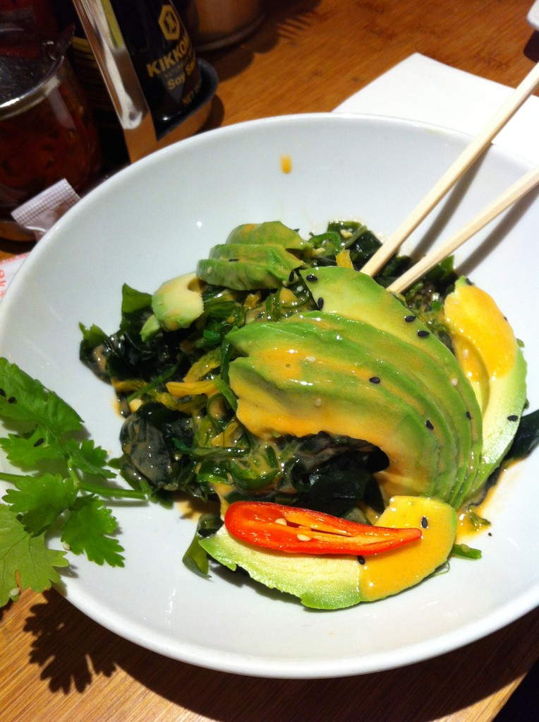 Avocadosalat@Ginger - Zürich, Switzerland