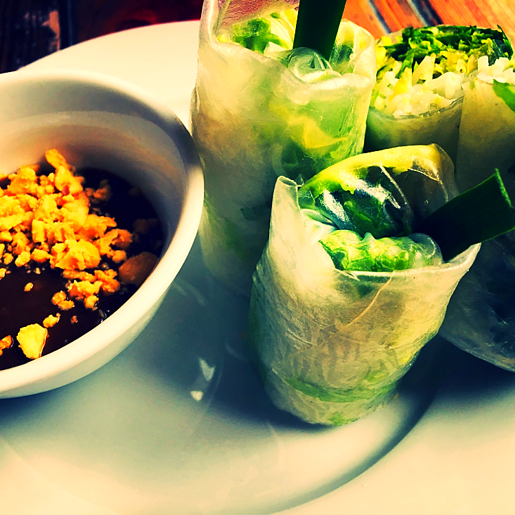 Summer rolls @ - New York, USA