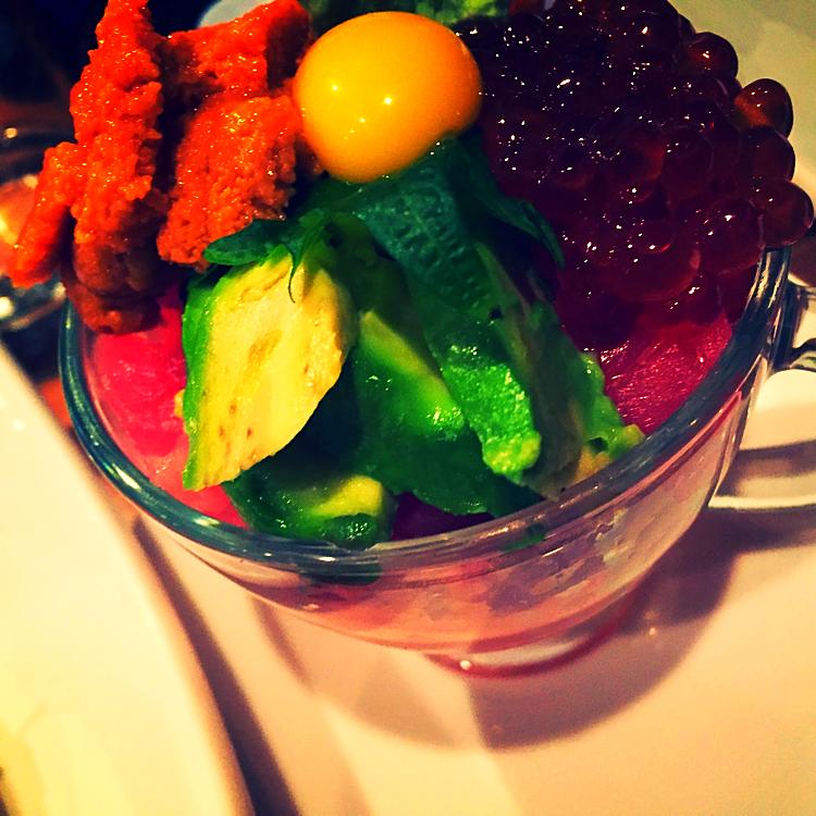Teacup Sashimi @Hagi49 - New York, USA