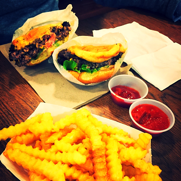 Double Shackburger & Cheese Fries @Shakeshack - New York, USA