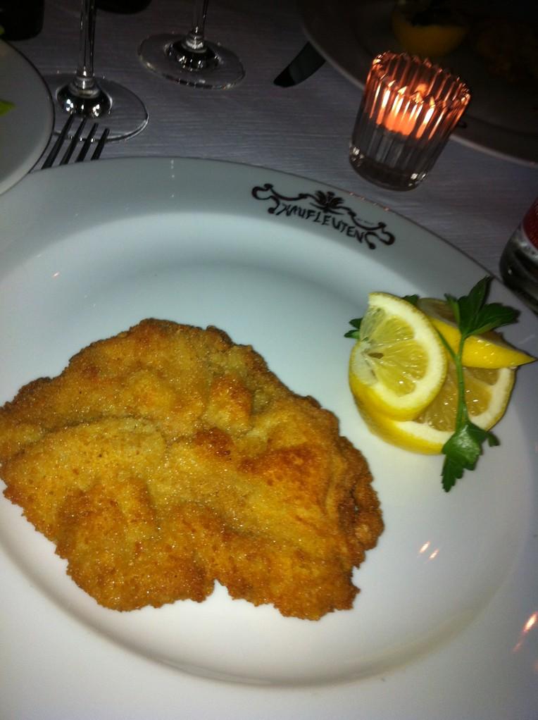 Das beste Kalbsschnitzel auf der Welt@Kaufleuten - Zürich, Switzerland