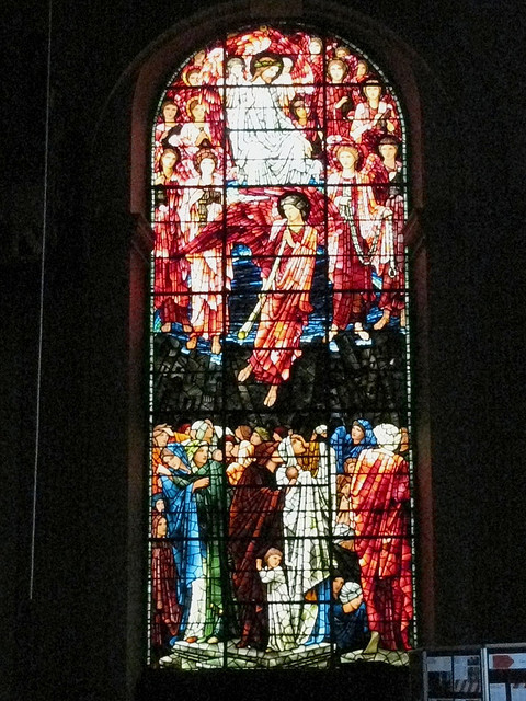 Burne-Jones Last Judgement - west window