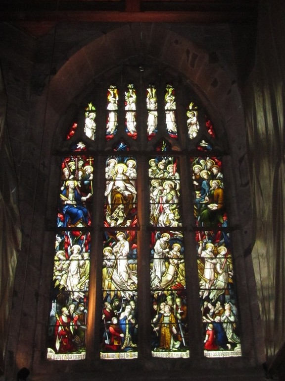 The west window