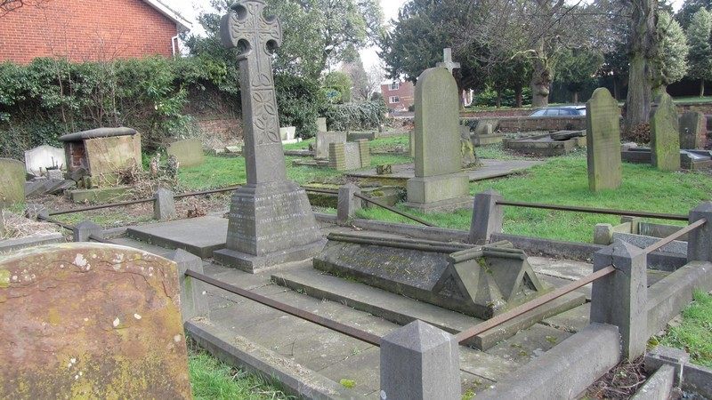 The Smallwood family grave