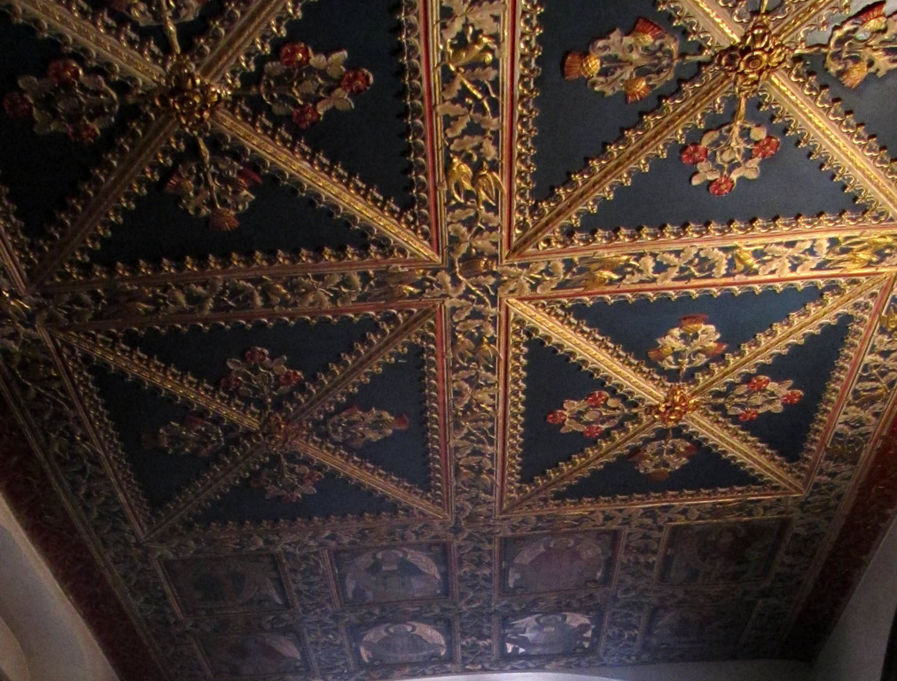 Vesey Chapel ceiling