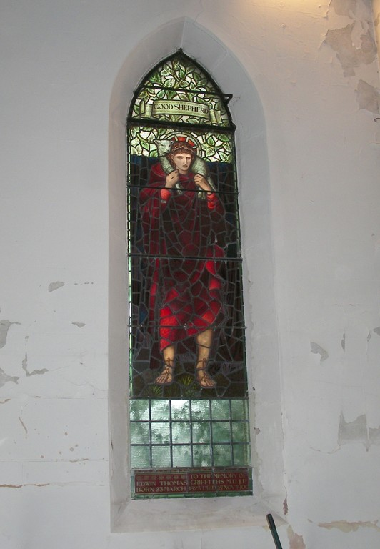 Window designed by Burne Jones executed by William Morris & Co.