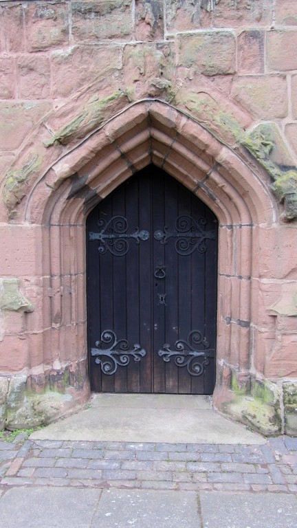 West door of the tower