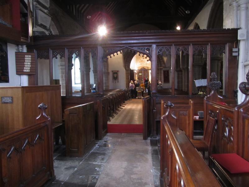 View from the chancel to the nave