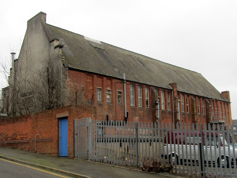 Holy Trinity School in Trinity Terrace built 1854; it was still open in 1961 but must have closed soon afterwards.