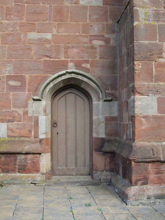 Tower - south door