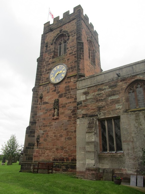 15th-century tower - south face