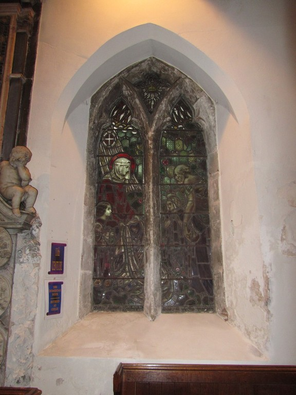 Window in the south wall of the chancel