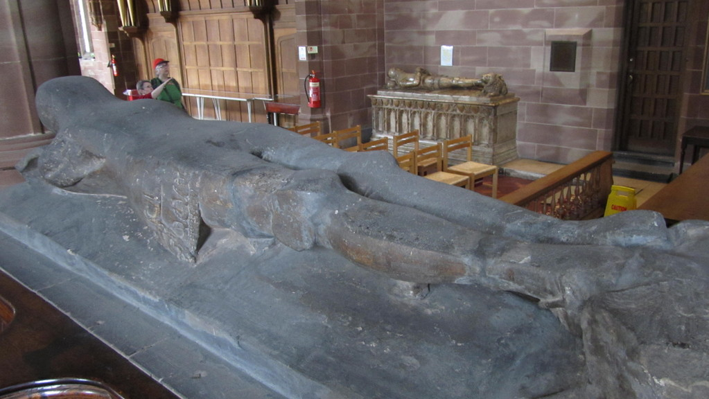 Effigy of Sir Fulk de Bermingham d.c1370