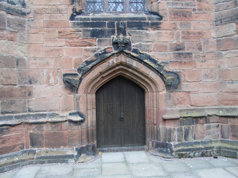 Tower - west door