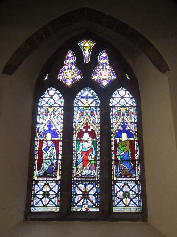Window in the Gilbey Chapel, south transept