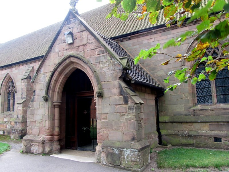 The north porch