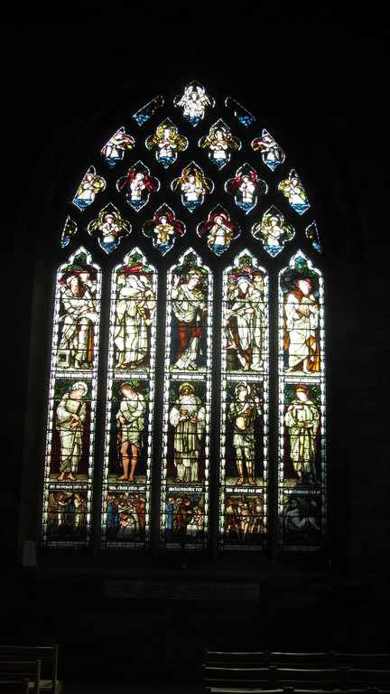 South transept window by Burne Jones 1887