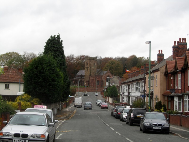 Handsworth Church viewed from Church Hill Road