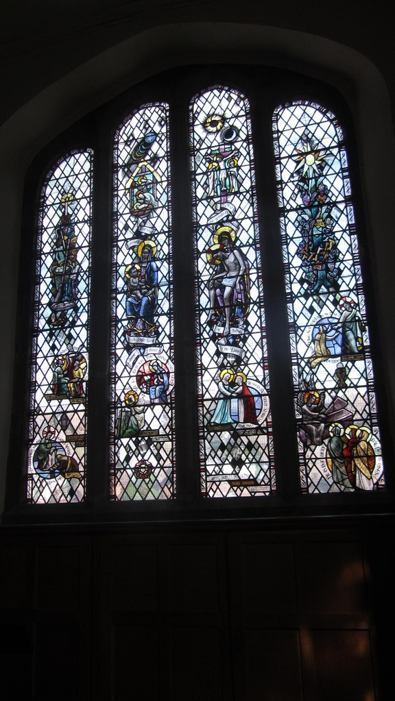 South aisle window