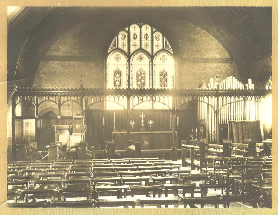 An early view of the east end