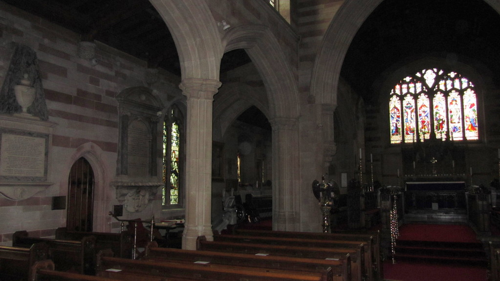 Looking towards the north chapel
