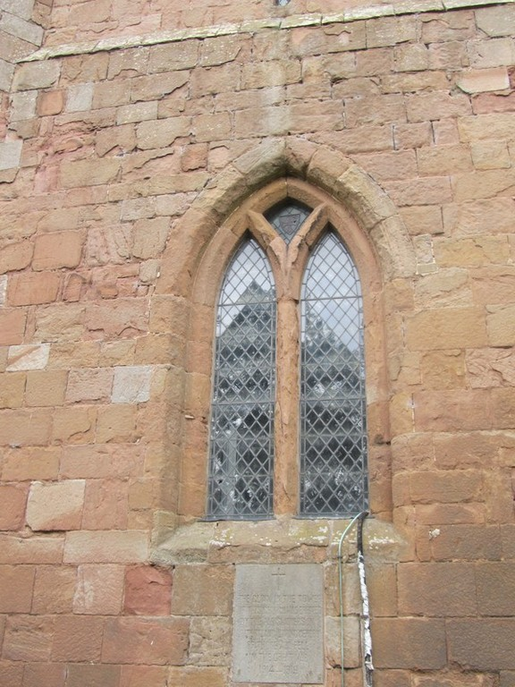 South window of the nave